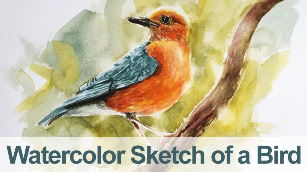mandarin course hong kong - painting a bird