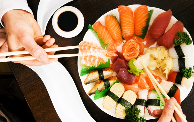 How to choose which sushi to eat