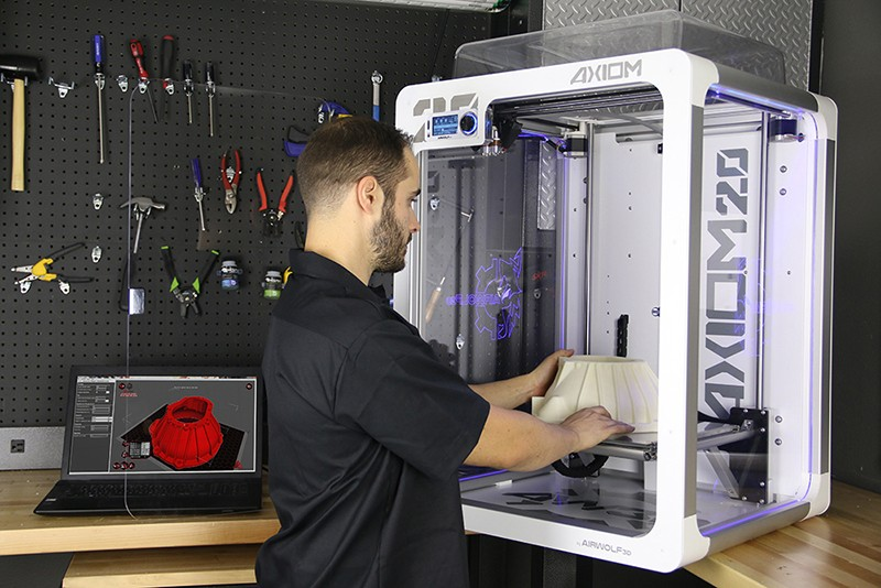 Easy English reading How 3D printer changes your life