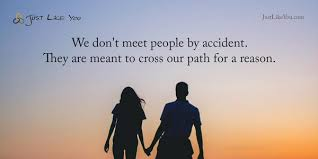 English Learning Course - We don't meet people by accident
