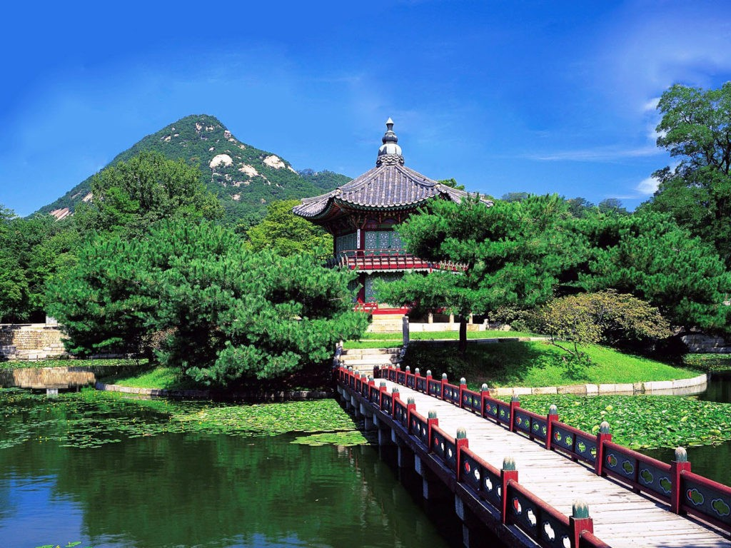 korean beautful place