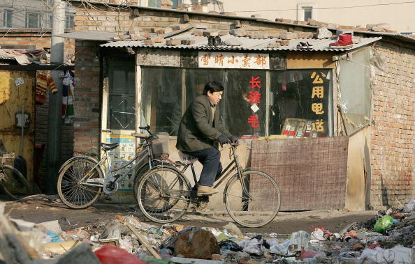 English Course for Intermediate Level - Chinese Poverty Line