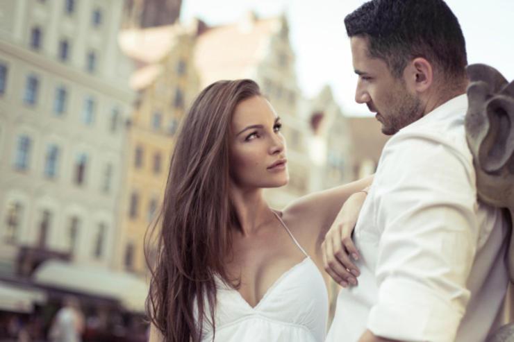 Handsome men and beautiful women
