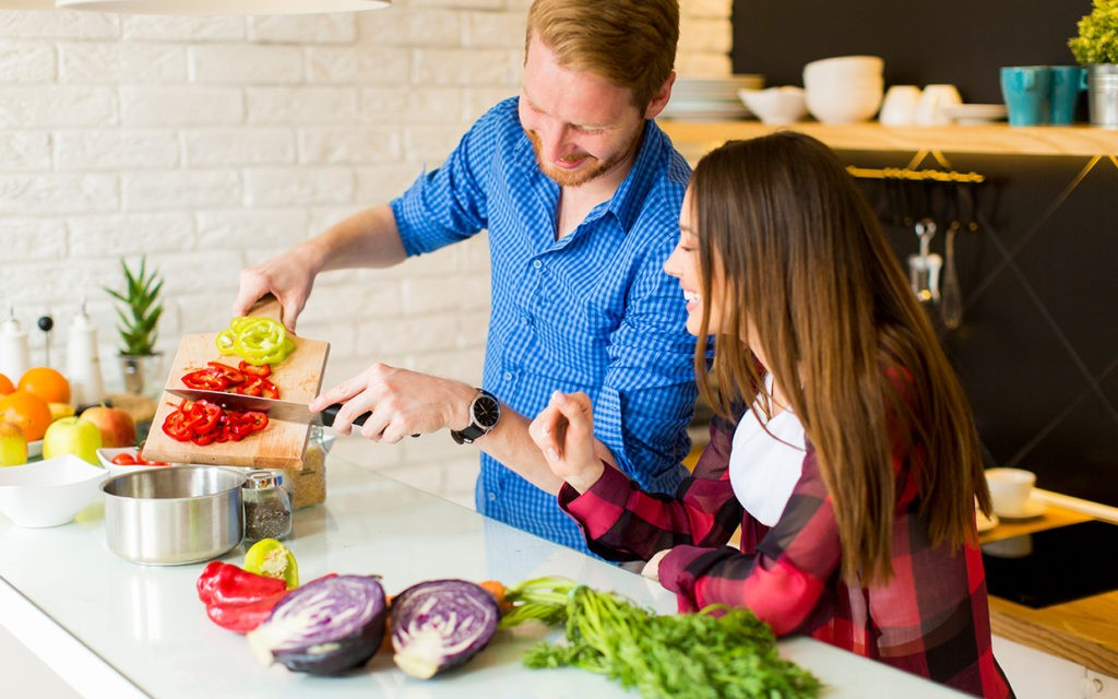 Longer time spend preparing food,the worse their health becomes