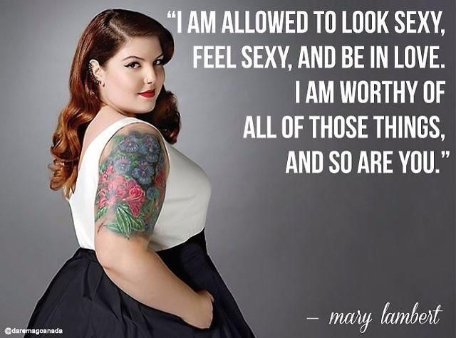 Women should love themselves