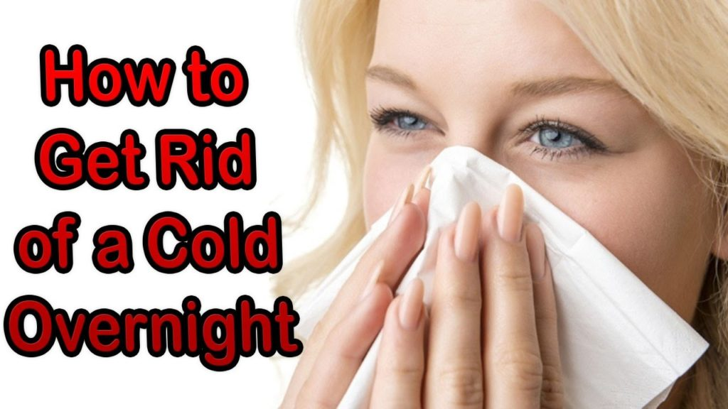 How to quickly get rid of cold