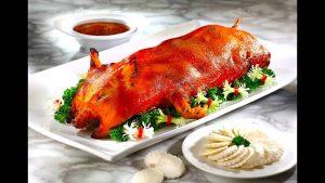 英语笑话 - 烤乳猪 English Jokes - Roast Pig